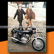 ★ YAMAHA XS 250 ★ 1981 Mini Poster Moto / Photo #MP66
