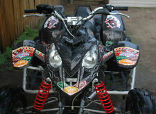 NEW AMR RACING QUAD ATV GRAPHICS STICKER KIT POLARIS PREDATOR 500 VEGAS