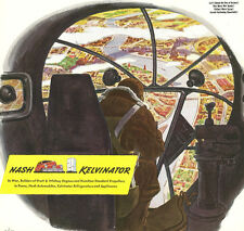 1943 WWII Ad ~ NASH Kelvinator ~ Bombardier in Bomber Aircraft Thinks About Home
