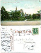 Harvard College Hemenway Gymnasium Postcard, 1909