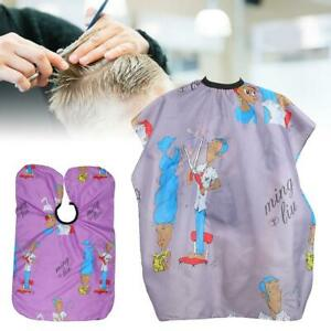 Waterproof Salon Hair Cut Hairdressing Hairdresser Barbers Cape Gown Cloth Wrap