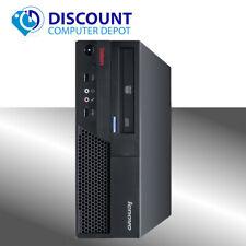 Lenovo M58E Desktop Computer Windows 10 Professional Core 2 Duo 2.93GHz 4GB 80GB