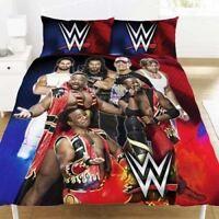 WWE Shield / New Day Double Duvet Cover Reversible Bedding Set John Cena