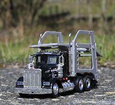 Spielzeug LKW Kenworth W900 mit AUTO-ANHÄNGER in 1:43 Länge 36cm         15213