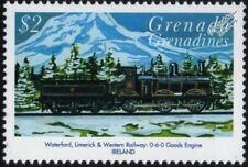 WATERFORD LIMERICK & WESTERN RAILWAY (Ireland) 0-6-0 Goods Engine Train Stamp