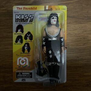 "KISS The Starchild Paul Stanley Collectible 8"" Figure NEW Mego Retro Figure"