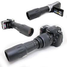 10x 42 1000mm Digiscoping Telescope for Nikon Digital D3000 AF-s DX 18-55mm Lens