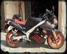 GILERA MX 1 record 1 A4 Foto Impresión moto antigua añejada De