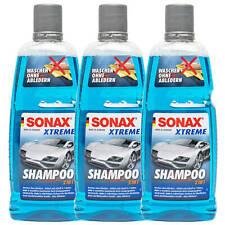 3x SONAX Xtreme Shampoo 2in1 Autoshampoo Konzentrat Autopflege 3 LIETER