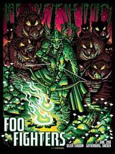Foo Fighters Poster Ullevi Stadium Gothenburg, Sweden June 5, 2018 A/P