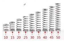 4mm x 28mm COMPRESSION SPRING x2 OD STAINLESS STEEL MICRO SMALL OD 4mm x 28mm