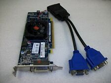 Small Form Factor Dual VGA AMD HD6350 512MB DDR3 Graphics Video Card-PCI-Express