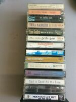Gospel Cassette tapes Tina Sadler, and others lot of 14