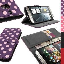 Custodie portafoglio semplice per HTC One