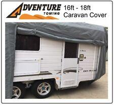 16 -18ft Heavy Duty 4 Layer Caravan Campervan Cover UV protection and Waterproof