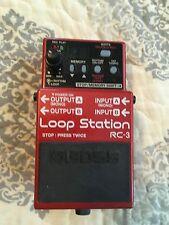 Boss RC-3 Looper Guitar Effect Pedal