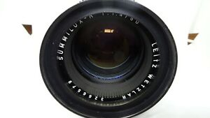 Leica Leitz Wetzlar Summilux-R 80mm F1.4 R-Only E67 Lens