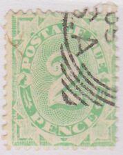 (KA34) 1902 AU 2d emerald green WM Inverted (B)