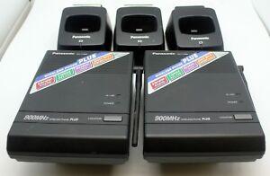 Panasonic KX-T7885 Wireless Phone 900mhz Bases and Charging Docks