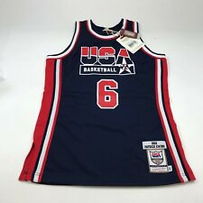 MITCHELL & NESS AUTHENTIC NBA TEAM USA 1992 'PATRICK EWING 6' MEN'S MED (40) NEW
