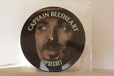 CAPTAIN BEEFHEART TOP SECRET  picture disc lp ( war zappa)