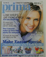 Prima Magazine. April 2001. 10 items every woman should have in her wardrobe.