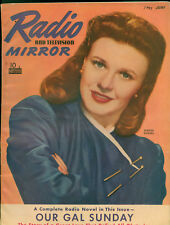 Radio &TV Mirror June 1941 Magazine 6th Superman in Radio serial with art.