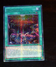 Yu-Gi-Oh SECRET RARE CARD CARTE WSUP-FR024 ONOMATOPIE VF NEUF MINT VENDEUR FR