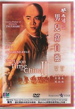 Once upon a time in China 2 DVD Jet Li Donnie Yen Action NEW R0 Eng Sub