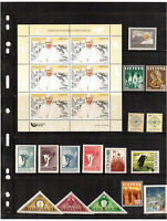 Lithuania.2018Mini sheet.visit Pope Francis to Lithuania.+Mix Relig.subjects MNH