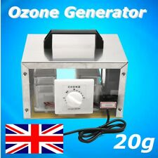 20g Ozone Generator Ozone Disinfection Machine Home Air Purifier 1.5M Cable 220V