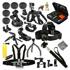 FOR ALL GoPro HERO5, HERO4, HERO3+, HERO3, HERO, HERO+ LCD Outdoor Accessory Kit