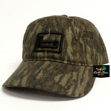 """NEW BANDED GEAR OILED HUNTING CAP HAT BOTTOMLAND CAMO W/ """"b"""" LOGO ADJUSTABLE"""