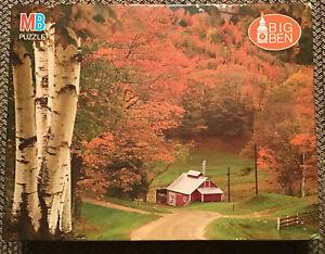 Big Ben 1000 Piece Jigsaw Puzzle, Autumn In Reading, Vermont ~ NEW