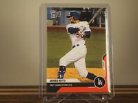 Mookie Betts - TOPPS NOW Card 323 - Leader in War (3.4) Red 03/10 Foil Parallel