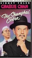 Charlie Chan THE SHANGHAI COBRA Sidney Toler VHS