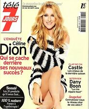 Mag 2016: CELINE DION_DANY BOON_CLAIRE BOROTRA_PHILIPPE BAS_ANNELISE HESME