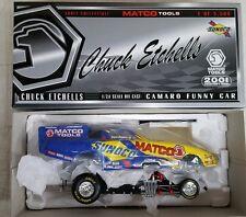 "NHRA Chuck Etchells 1:24 Diecast Camaro Funny Car DRAG Racing Sunoco ""RARE"" NIB"