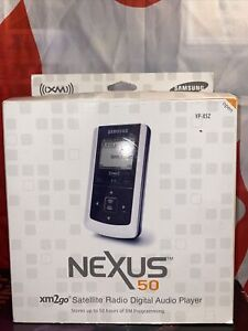 NEW! Samsung Nexus 50 YP-X5Z xm2go Satellite Radio Digital Audio Player!