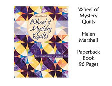 New! WHEEL OF MYSTERY QUILTS  Book - Helen Marshall - Free Shipping!