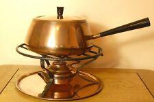 Vintage Copper 6 PIece Fondue Set by Culinox of Switzerland