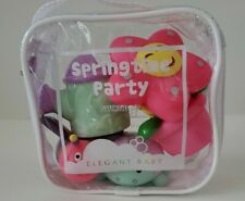 Elegant Baby Set Of 5 Springtime Paty Squirtie Gift BPA BNWT Toys ,Summer ,