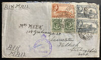 1942 Field Post 475 Gibraltar Airmail Cover To Launceston England