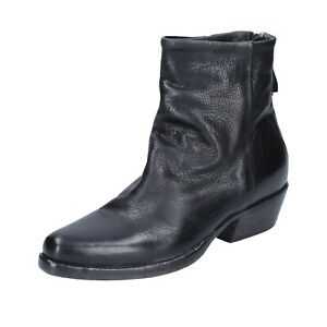 Women's shoes MOMA 5 (EU 35) ankle boots black leather BJ656-35
