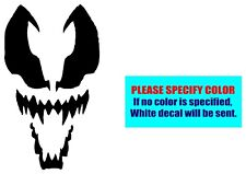 Spiderman Venom #080 Vinyl decal sticker Graphic Die Cut Car Truck Window 12""