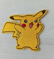 Patch écusson pokemon pikachu jaune