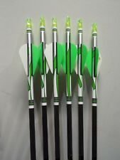 6 Gold Tip XT Hunter 400 ARROWS Factory Wrapped & Fletched 1/2 Dozen