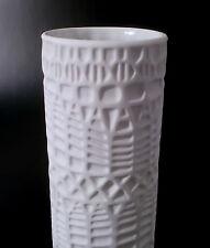 "60s jarrón"" 713"" Thomas bisquit porcelana op art relief porcelain maletero annees 60"