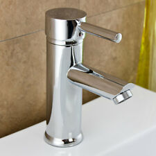 Kadaya Chrome Modern Mono Bloc Bathroom Cloakroom Basin Mixer Tap T3006E