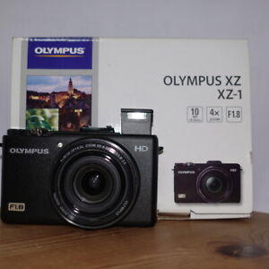 OLYMPUS XZ, XZ-1, BLACK, for PARTS only, from JAPAN,